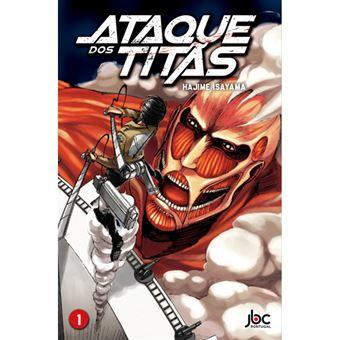 Ataque dos Titãs - Livro 1