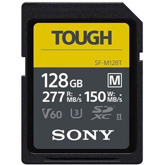 Cartão de Memória Sony TOUGH Classe 10 UHS-II - SDXC - 128GB
