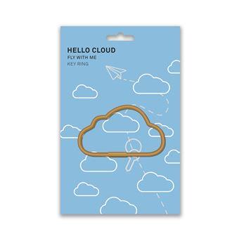 Porta Chaves Hello - Nuvem