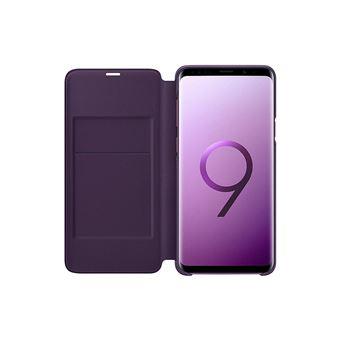 Capa Samsung Led View para Galaxy S9+ - Púrpura