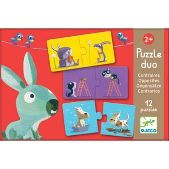 Puzzle Duo - Opostos