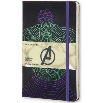 Caderno Pautado Moleskine Avengers - Hulk Grande