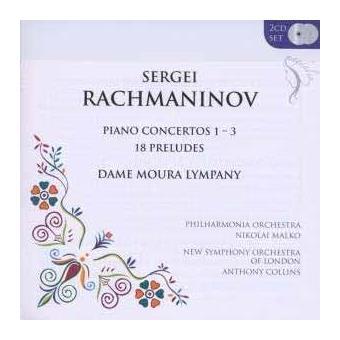 Piano Concertos 1-3/18 Pr