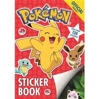 Official pokemon sticker book