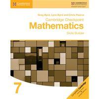 Cambridge Checkpoint Mathematics Skills Builder Workbook 7