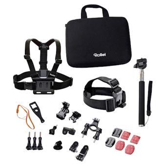 Rollei 21639 Montagem de câmera acessório de câmara de desporto e ação