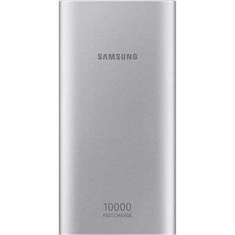 Power Bank Samsung Fast Charge USB-C - 10000mAh - Prateado