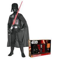 Disfarce Darth Vader - Star Wars (Tamanho L 7 a 9 Anos)
