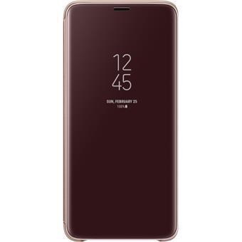 Capa Samsung Clear View para Galaxy S9+ - Dourado