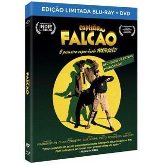 Capitão Falcão - Edição Limitada (Blu-ray + DVD)