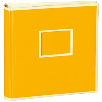 Álbum Para Fotografias Semikolon Pockets Pequeno Amarelo - 200 Fotografias
