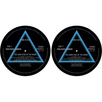 Slipmat Set: Dark Side of the Moon