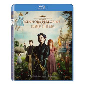 A Casa da Senhora Peregrine para Crianças Peculiares (Blu-ray)