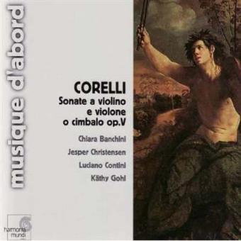 Corelli | Sonate a Violino e Violone o Cimbalo Op.V