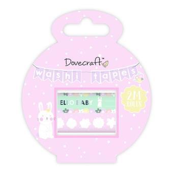 Fita-Cola Decorativa Washi Tape - Hello Baby - 2 Unidades
