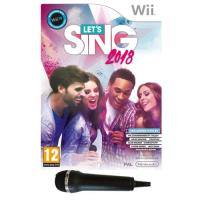 Let's Sing 2018 + 1 Micro WII