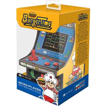 Consola Retro My Arcade Micro Palyer - Burger Time