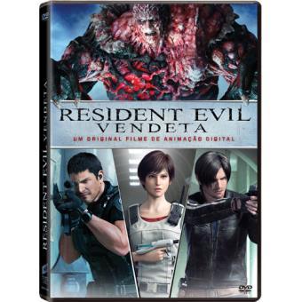 Resident Evil: Vendetta (DVD)