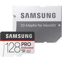 Cartão Memória Samsung MicroSDXC PRO Endurance U1 - 128GB