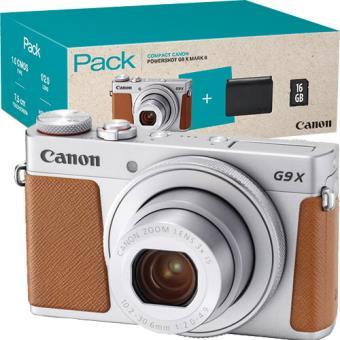 Pack Fnac Canon Powershot G9 X Mark II + Cartão SD + Bolsa