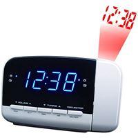 Rádio Despertador Brandt BCR152P - Branco