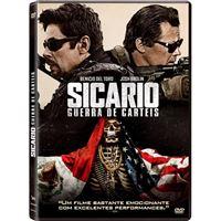 Sicario 2: Guerra de Cartéis - DVD