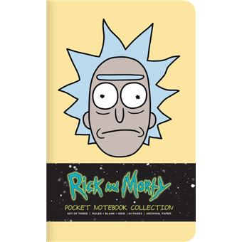 Rick and morty: pocket notebook col
