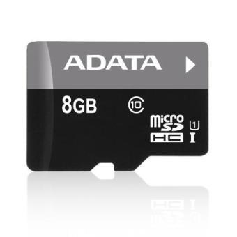 ADATA microSDHC 8GB UHS-I + Adaptador SD