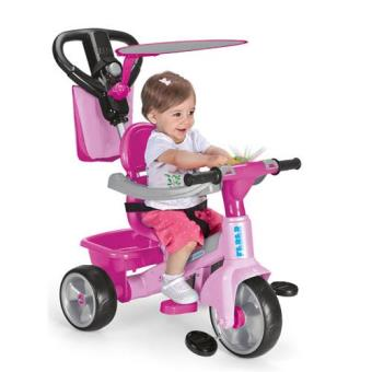 Triciclo Baby Plus Music Rosa V2