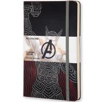 Caderno Pautado Moleskine Avengers - Thor Grande