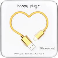 Cabo Lightning Happy Plugs 2m - Dourado