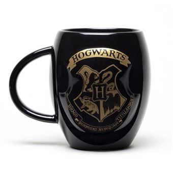 Caneca Oval Harry Potter: Hogwarts Gold