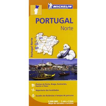 Michelin Mapas Regionais - Portugal Norte