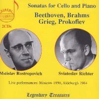 Sonatas For Cello & Piano (2CD)