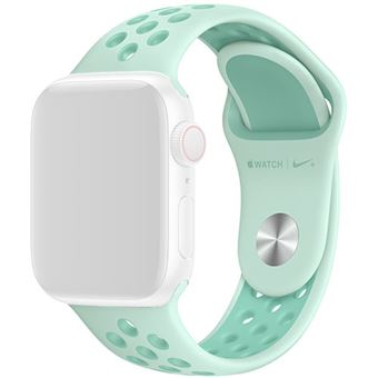 Bracelete Desportiva Nike para Apple Watch 40mm - Verde Pálido   Twist Tropical
