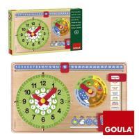 Relógio Calendário Português