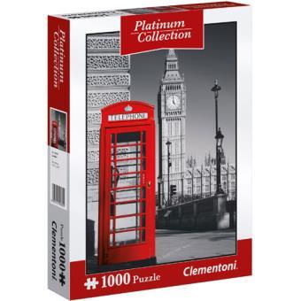 Puzzle London - Platinum 1000 Peças - Clementoni