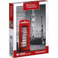Puzzle London - Platinum 1000 Peças - Clementoni a12ec0842bcd7