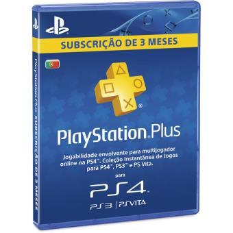 Playstation plus subscri o 3 meses acess rios ps4 compra na - Psn plus 3 meses ...