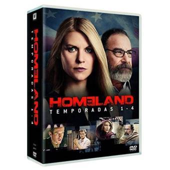 Caixa Homeland - Temporadas 1-4
