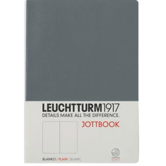 Caderno Liso Leuchtturm Jottbook A5 Cinzento