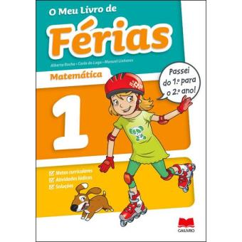 O Meu Livro de Férias - Matemática 1