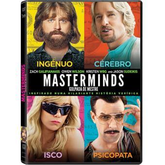 Masterminds - Golpada de Mestre (DVD)