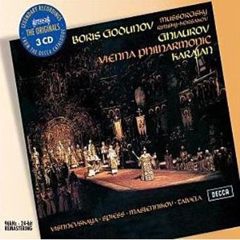 Mussorgsky | Boris Godunov (3CD)