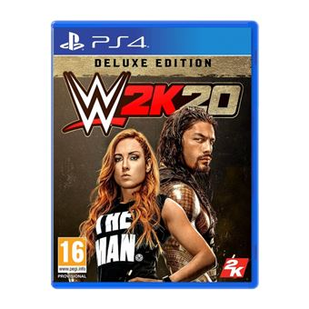 WWE 2K20 - Deluxe Edition - PS4