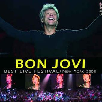 Bon Jovi: Best Live Festival in New York 2008 - LP