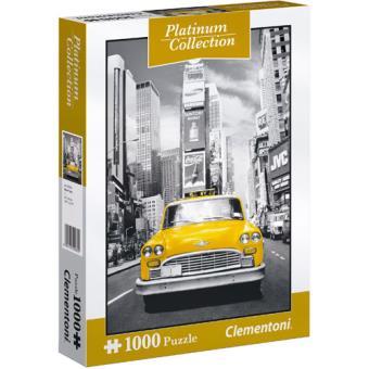 Puzzle New York Taxi - Platinum  1000 Peças - Clementoni