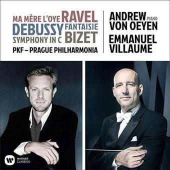 Ravel, Debussy, Bizet - CD