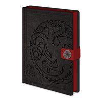 Caderno Game of Thrones - Targaryen A5