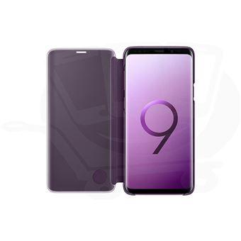 Capa Samsung Clear View para Galaxy S9+ - Púrpura